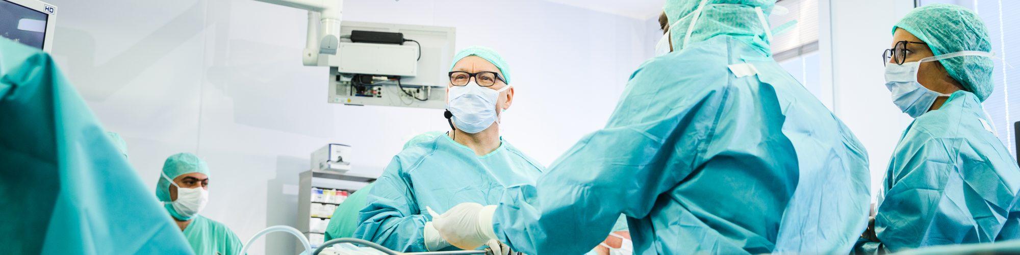 OP-Saal Chirurgie