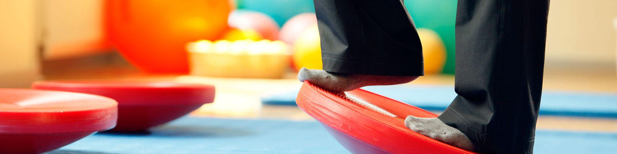 ein Balance-Board