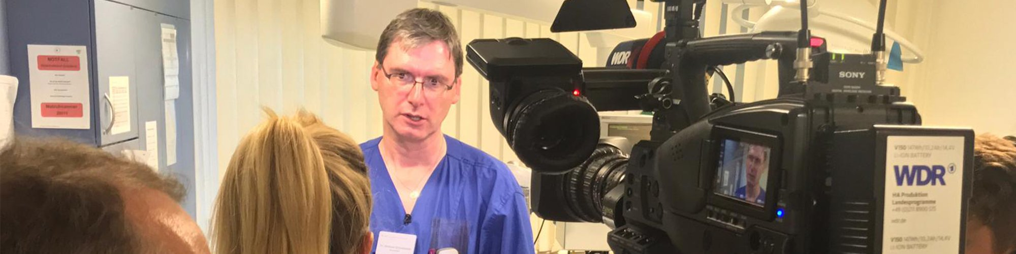 Dr. Grundmeier im WDR Interview